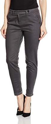 Sandwich Women's Straight Leg Trousers - Grey - UK