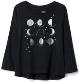 Gap Moon phase hi-lo tee