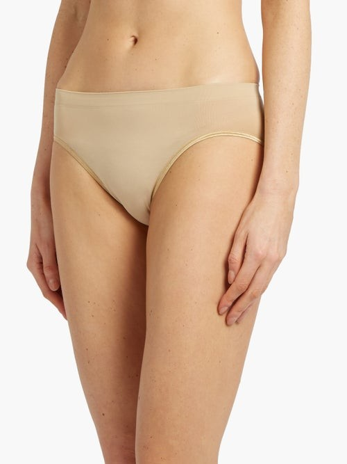 Thumbnail for your product : Hanro Touch Feeling Midi Briefs - Nude