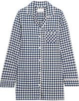 Three J NYC Audrey Checked Cotton-flannel Nightshirt - medium