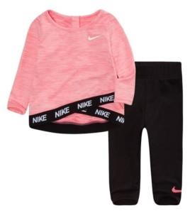 Nike Baby Girls Dri-fit Top and Leggings Set