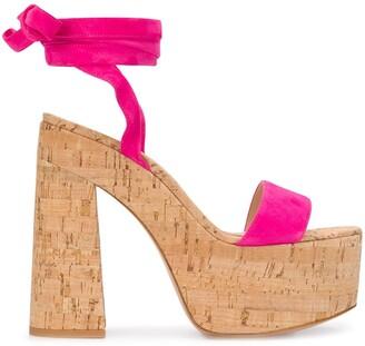 Gianvito Rossi Platform Sole Sandals
