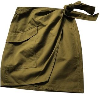 Etoile Isabel Marant Khaki Cotton Skirt for Women
