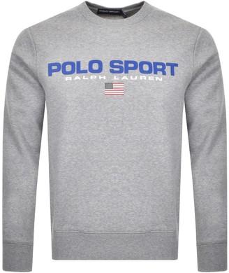 Ralph Lauren Polo Sport Knit Jumper Grey