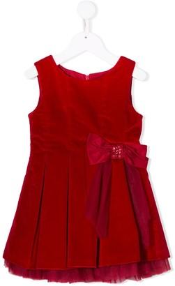 Lapin House Velvet Finish Sleeveless Dress