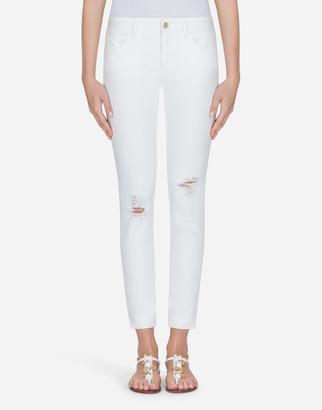 Dolce & Gabbana Stretch Cotton Pretty Fit Jeans