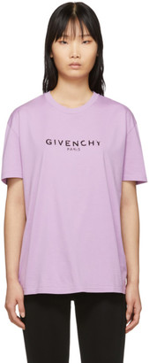 Givenchy Purple Vintage T-Shirt