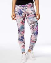 Material Girl Active Juniors' Graffiti-Print Leggings, Created for Macy's