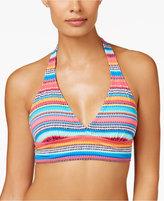 Anne Cole Marilyn Striped Halter Bikini Top