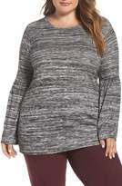 Vince Camuto Ruched Bell Sleeve Sweater