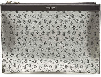 Printed Leather iPad Case