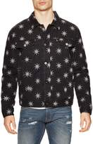 Love Moschino Men's Stars Print Denim Jacket