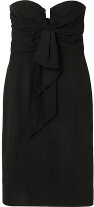 Christian Dior Pre-Owned Off-Shoulder Dress