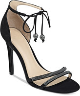 GUESS Women's Peri Lace-Up Sandals Women's Shoes