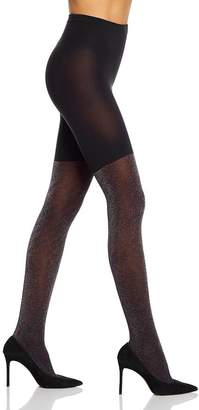 Spanx Ribbed Shimmer Tight-End Tights