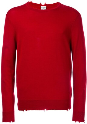 Kent & Curwen Distressed Fine Knit Jumper