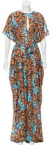 Tome Printed Wide-Leg Jumpsuit w/ Tags