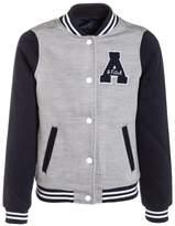 Abercrombie & Fitch VARSITY Light jacket navy/grey