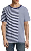 Arizona Short Sleeve Crew Neck Split T-Shirt