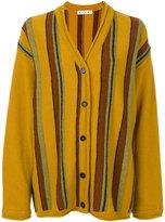 Marni striped cardigan - women - Virgin Wool - 38