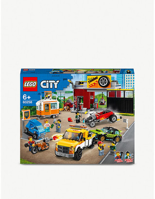Lego City Tuning Workshop set