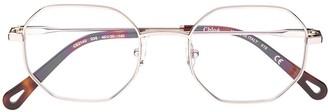 Chloé Eyewear octagon frame sunglasses
