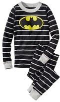 Hanna Andersson 'DC Comics TM Batman' Organic Cotton Fitted Two-Piece Pajamas (Toddler Boys, Little Boys & Big Boys)