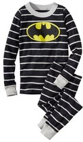 Hanna Andersson 'DC Comics TM Batman' Organic Cotton Fitted Two-Piece Pajamas