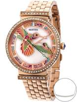 Mother of Pearl Bertha Women's Watches Rose - Rose Goldtone & Mother-of-Pearl Emily Bracelet Watch