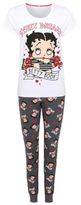 George Betty Boop Pyjama Top and Bottoms Set