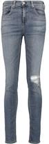 Rag & Bone 10 Inch Skinny Mid-Rise Skinny Jeans
