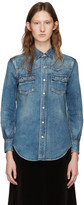 Saint Laurent Blue Denim Nashville Shirt