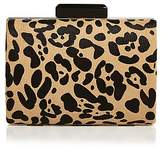 Sondra Roberts Faux-Calf Hair Clutch