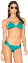 Indah Andrea Triangle Top in Teal. - size XS (also in )