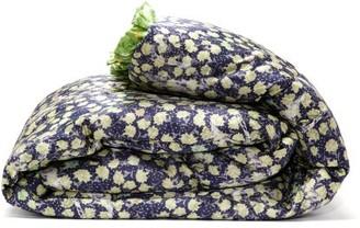 Preen by Thornton Bregazzi Reversible Floral-print Satin Eiderdown - Green Print