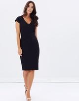 Forcast Deb Pleat Waist Dress