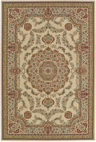 "Closeout! D Style Beacon BEA8021 Ivory 9'6"" x 13'2"" Area Rug"