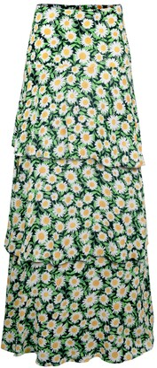 AFRM Sabine Tiered Maxi Skirt