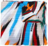 Missoni brush stroke print scarf
