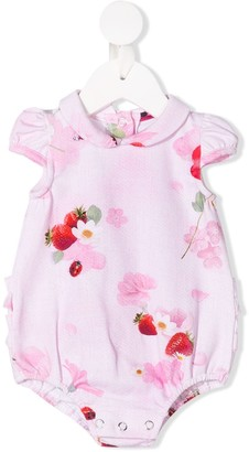 Lapin House Floral And Strawberry Print Body
