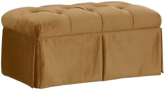 Willa Arlo Interiors Brunella Upholstered Storage Bench Color: Mystere Moccasin