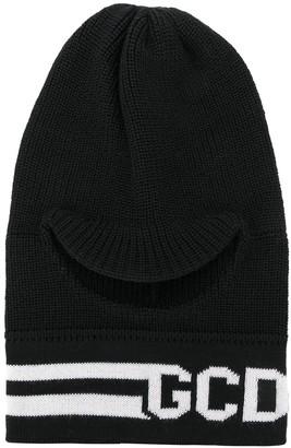 GCDS knitted logo hat