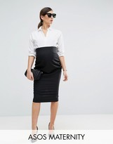 Asos Workwear Tailored Pencil Skirt