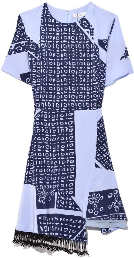 Altuzarra Tournelle Dress in Periwinkle