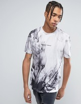 Criminal Damage T-Shirt In White With Print
