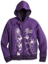 Disney Jack Skellington and Sally Hooded Sweatshirt for Women