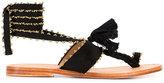 Ulla Johnson Zandra sandals - women - Cotton/Leather/Suede - 38