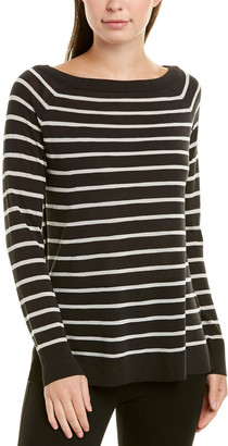 Lafayette 148 New York Striped Sweater