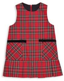 Florence Eiseman Baby Girl's, Little Girl's& Girl's Tartan Plaid Jumper - Red - Size 24 Months