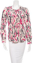 Isabel Marant Patterned Silk Top